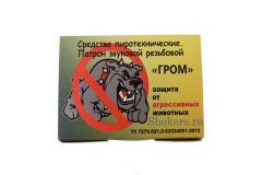 """Патроны звуковые резьбовые """"ГРОМ"""",15 шт/уп"""